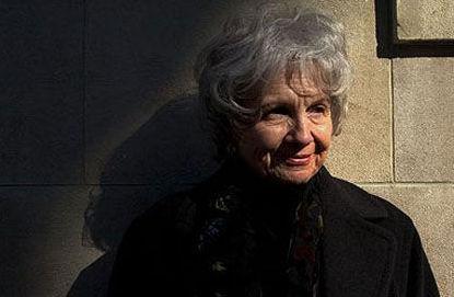 2013年诺贝尔文学奖得主艾丽丝・门罗。