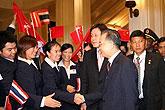 温家宝接见汉语教师志愿者