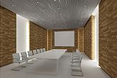 小会议室效果图