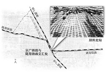 亚洲最大的编组站:郑州北站