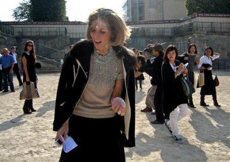 美国版《时尚》(Vogue)杂志主编Anna Wintour