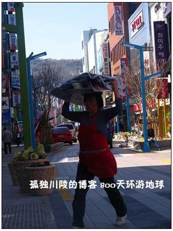 韩国的外卖