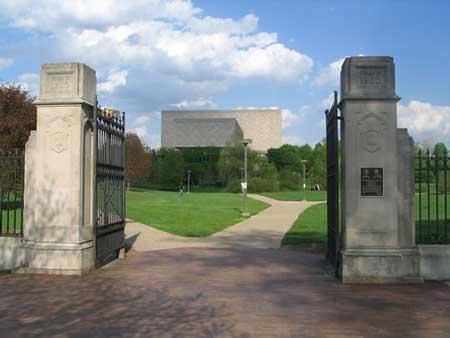 Campus of Indiana University (Arboretum)