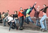 在北大留学的外国留学生