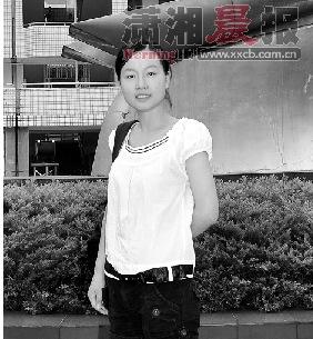 常德芷兰实验学校学生殷榕。图/红网记者董雷