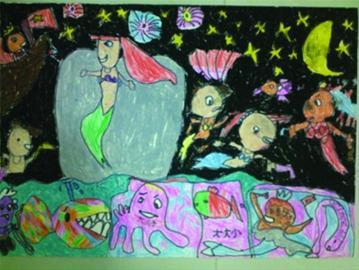 朱怡菲 6岁《欢迎小美人鱼来到上海世博会》