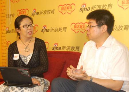 北大中文系教授与主持人殷智贤畅谈亲子教育