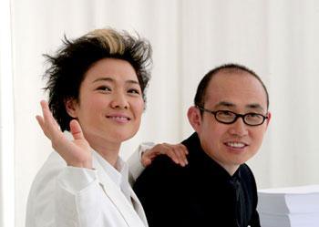 SOHO中国:张欣(左)