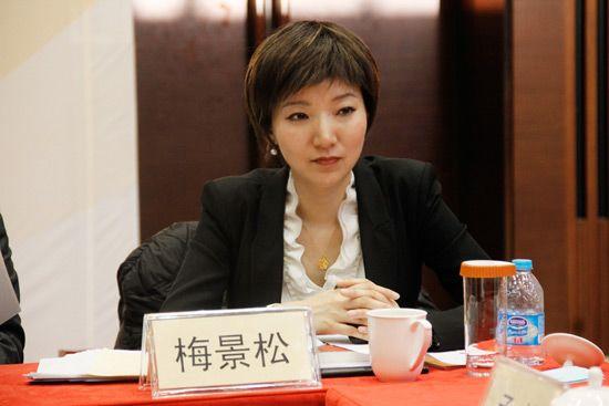 新浪网教育中心总监梅景松发言