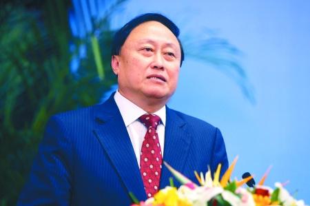 北京大学党委书记朱善璐(龙在全/摄)
