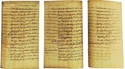 路易十四写给康熙的信