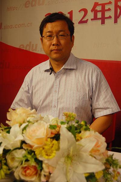 北京交通大学招生与就业工作处副处长史贞军做客新浪