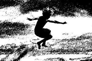 以爱为伞,带着青春期孩子平稳降落。 佚名 绘