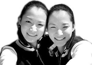 马冬晗、马冬昕姐妹俩。(资料图片)
