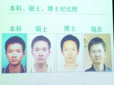 赵铁军不同时期脸部对比