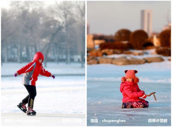 中国最具幸福感城市长春的迷人雪景