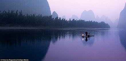 外媒看中国:桂林山水与传承千年的渔夫