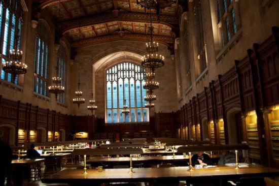美国,密西根州,安娜堡,密西根大学法学图书馆。University of Michigan Law Library, Ann Arbor, MI
