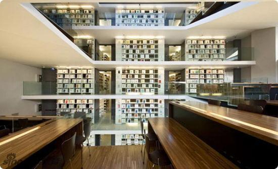 意大利,罗马,拉特然教宗图书馆Pontifical Lateran University library, Rome, Italy