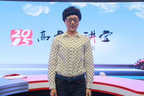 哈尔滨工业大学招生就业处副处长、招办主任邢朝霞
