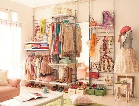 衣柜英文怎么说