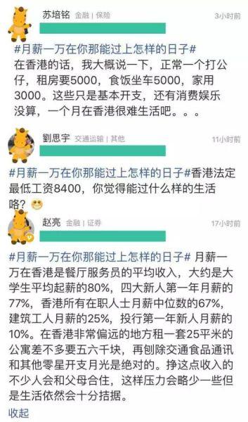 月薪一万在香港