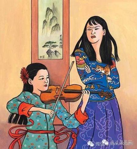 都说这张图反映了中国大部分家庭的教育观
