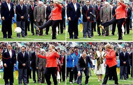 2008政坛年终回顾:智利总统一脚踢飞高跟鞋