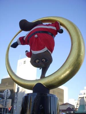 日本搞怪圣诞老人:骷髅圣诞老人