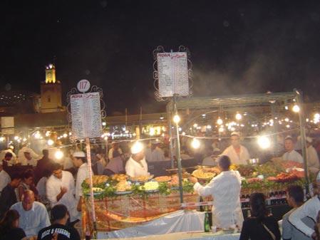 阿拉伯的墓地和婚礼:卡萨布兰卡