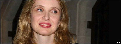 Julie Delpy, actress, screenwriter, film maker