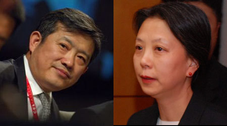 陈东升(左)、王雁南(右)都是中国会的会员(配图:中国企业家网)