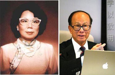 Li Ka-shing with Single