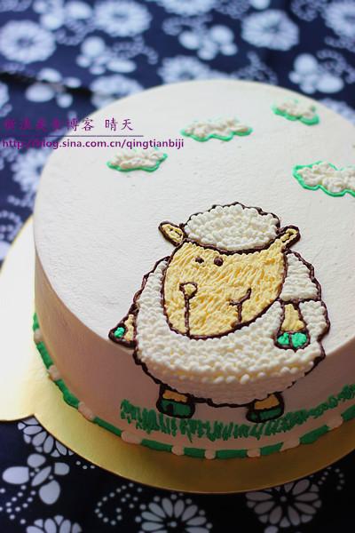 海绵纸蛋糕贴画