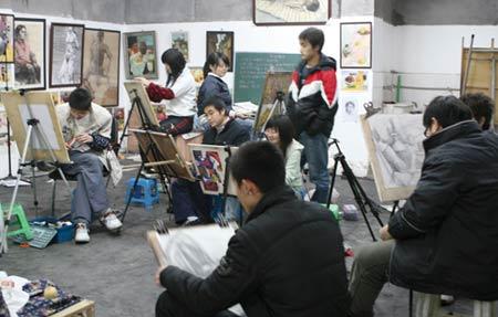 链接:四川美术学院黄桷坪的画室(图)
