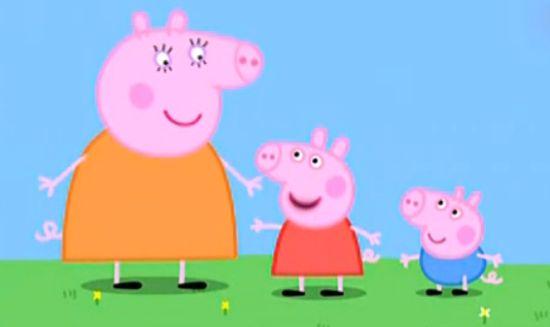 超萌动画片:粉红猪小妹