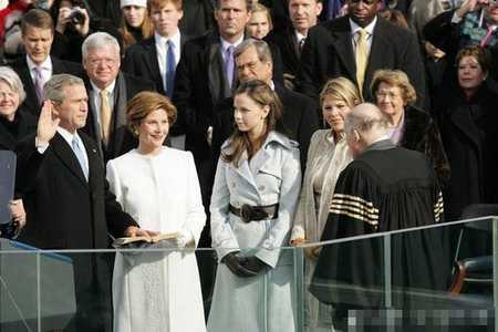 布什2005年连任就职大典(组图)