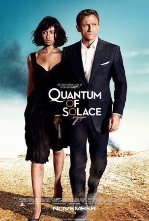 上周北美票房第五名:《007:大破量子危机》(组图)