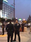 警察街头巡视