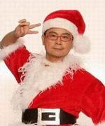 黄一山扮圣诞老人