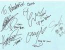 WG给中国歌迷的签名