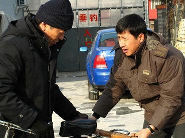 春节坚守《牵挂》剧组刘威盼望回家过十五