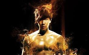 林俊杰巡演海报曝光 半裸上阵秀腹肌