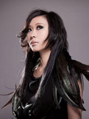 朱紫娆黑白写真