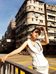 高圆圆香港拍写真