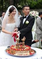 新人切婚礼蛋糕