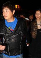 孙楠潘蔚参加晚宴