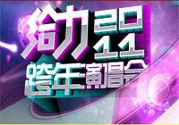湖南卫视给力2011跨年演唱会2010-12-31晚19:30播出