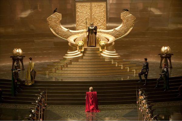 天界奥丁之城众神亮相