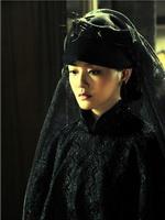 神秘全蕾丝黑纱造型